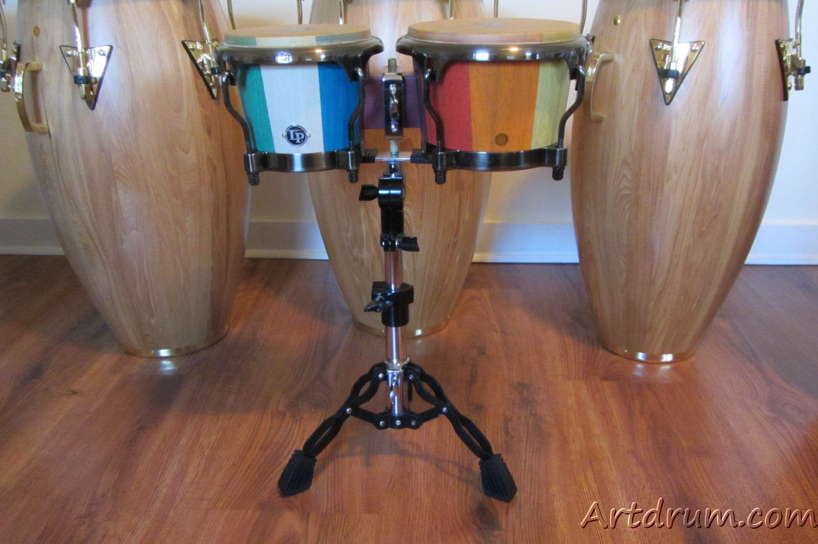 Toca Pro Bongo Stand With Stabilizer Bars