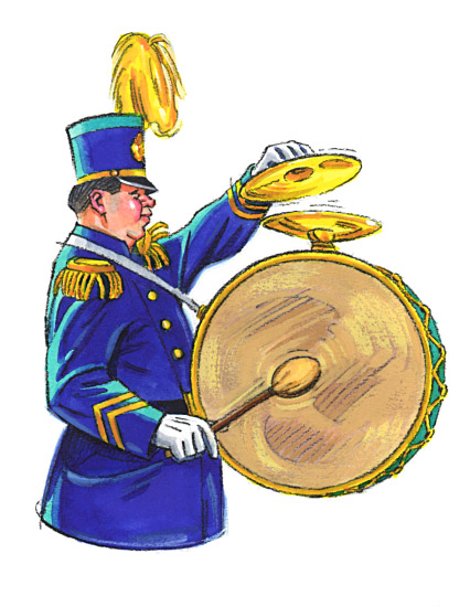 Marching Band Drum Marching Band Drum Clipart