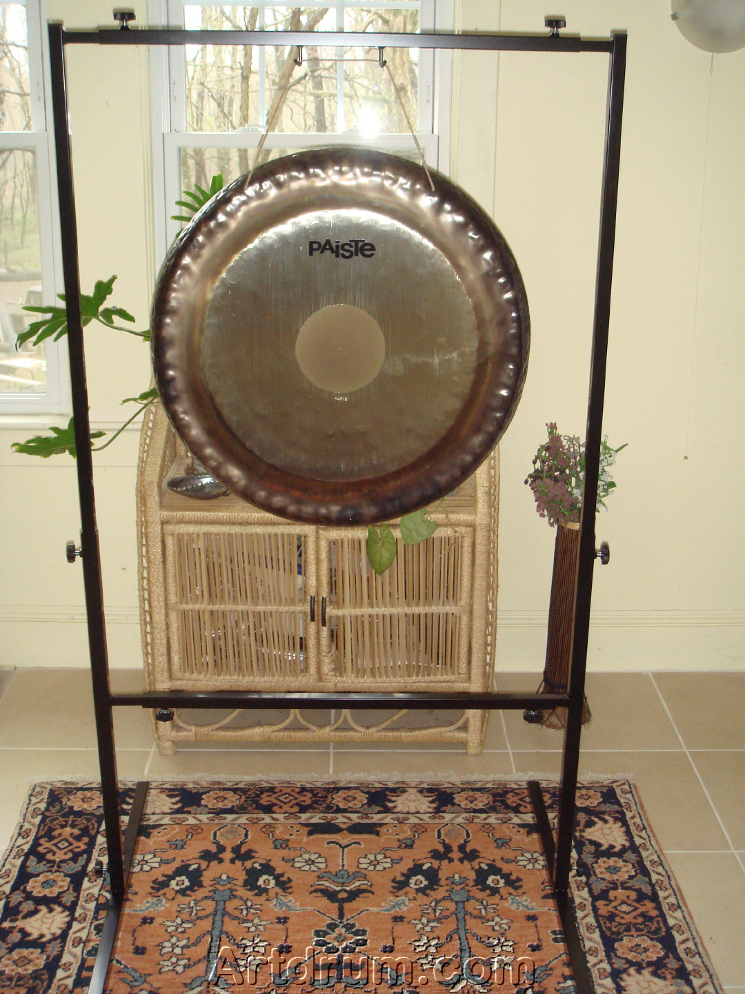 041ee58e86f0 Paiste Symphonic Gong · symphonic gong with gong stand