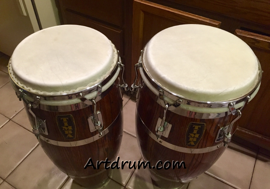 Tucking Skins on Congas, Bongos & Hand Drums